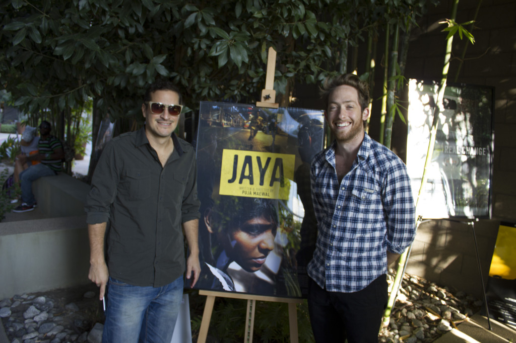 Jaya Poster with Composer Scott Salinas